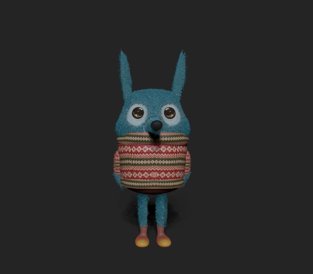 Characters From the 3D Modeling Workshop